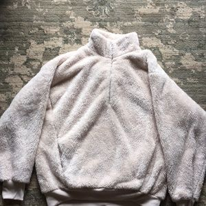 Small, Express beige fleece. Only worn once.